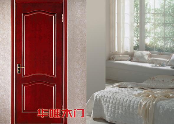 实木工艺烤漆门(小线条)