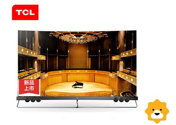 TCL65寸曲面电视