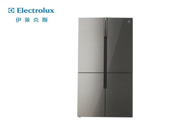 伊莱克斯 十字四门冰箱