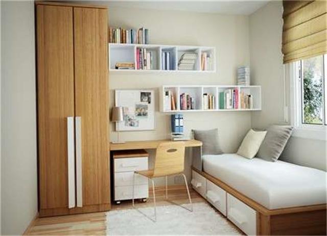 迷你书房装修效果图 5款精美小书房装修图片欣赏